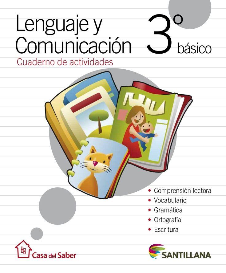 Cuaderno Actividades Lenguaje 3º by Geovanna Carvajal Cuevas via slideshare