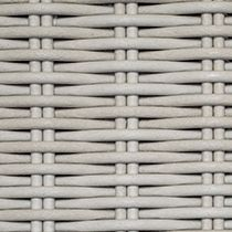 Synthetic Rattan double post round fiber