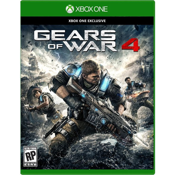 Microsoft Gears of War 4 - Third Person Shooter - Blu-ray Disc - Xbox One - English