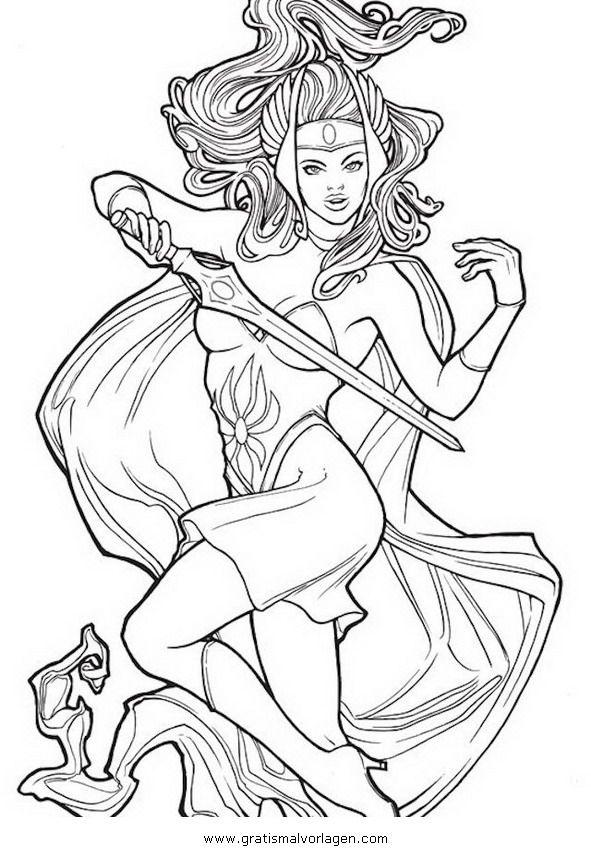 Gratis Malvorlage She Ra Shera 07 In Comic Trickfilmfiguren He Man Zum Ausdrucken Und Ausmalen Malvorlagen Charakter Kunst Ausdrucken