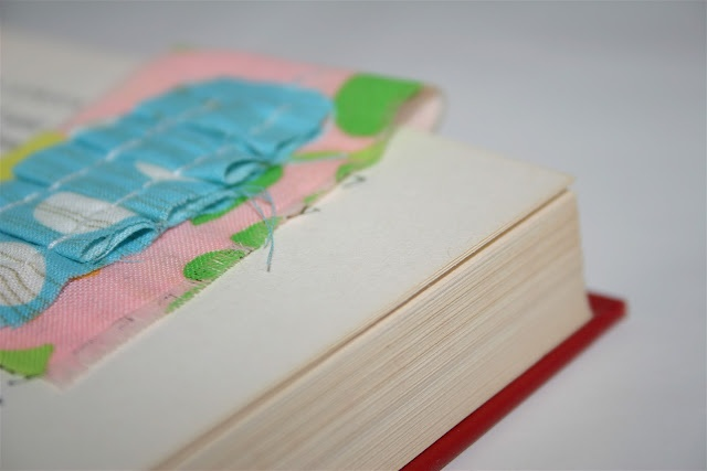 ruffle magnetic bookmarks