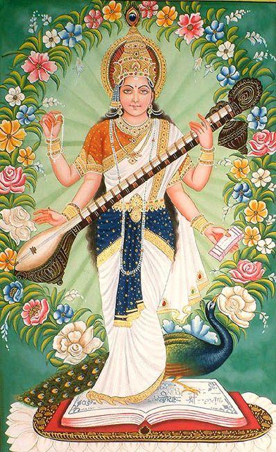 Saraswati: Goddess of Knowledge and Arts
