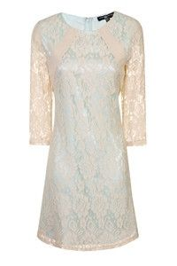 Ladies Little Mistress Mint & Cream Lace Dress – Little lambs boutique
