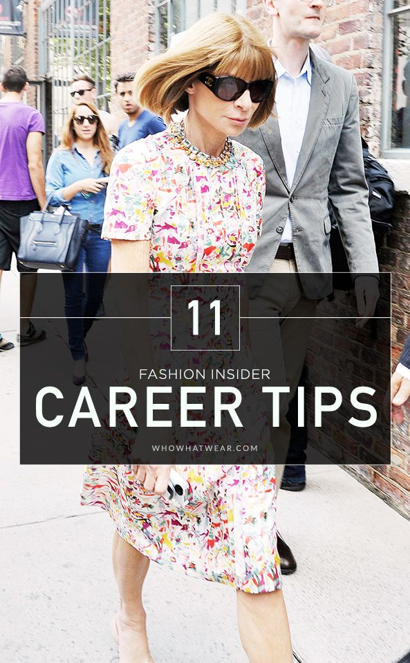 fashion merchandising resume%0A    Career Tips From Fashion u    s Most Successful Women