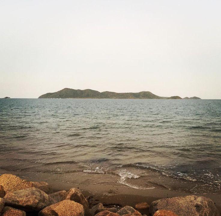 Best view! #missionbeach #dunkisland #sunset