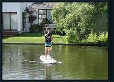 Stand up paddle boarding in Marina Da Gama. #marinadagama #muizenberglifestyle