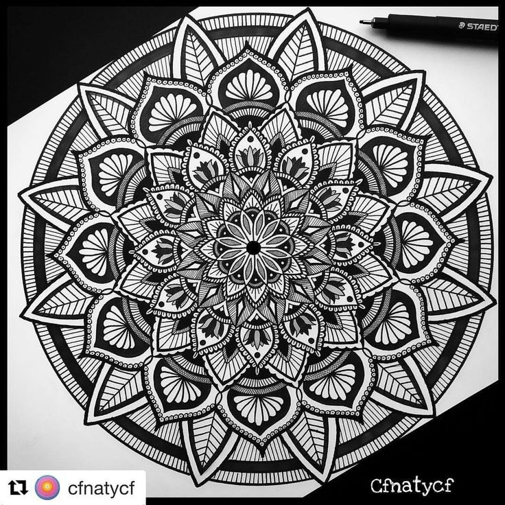 Mandalas Zentangles Tag me in your photos (not as comment) Personal account: @milliedstefano