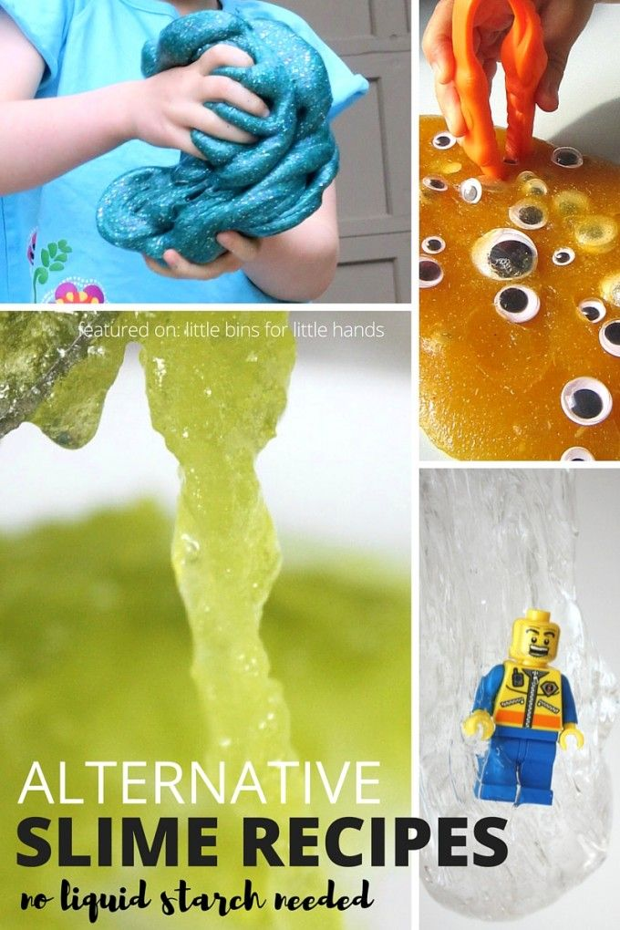 Make Homemade Flubber for Kids Slime Science and Sensory Play