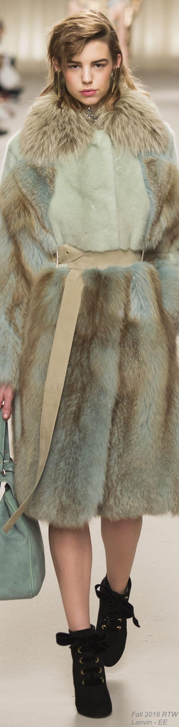 Fall 2016 Ready-to-Wear Lanvin - EE