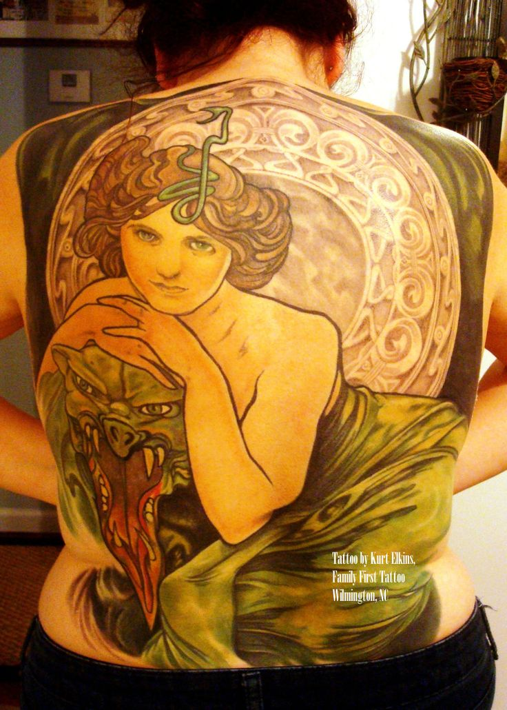 298 best mucha art nouveau tattoos images on pinterest for Tattoo artists in wilmington nc
