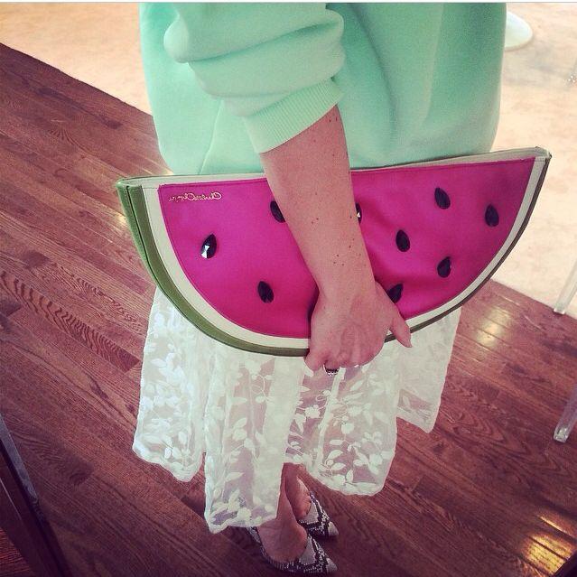 watermelon trending SS14 #thedailydagny #charlotteolympia #resort2015