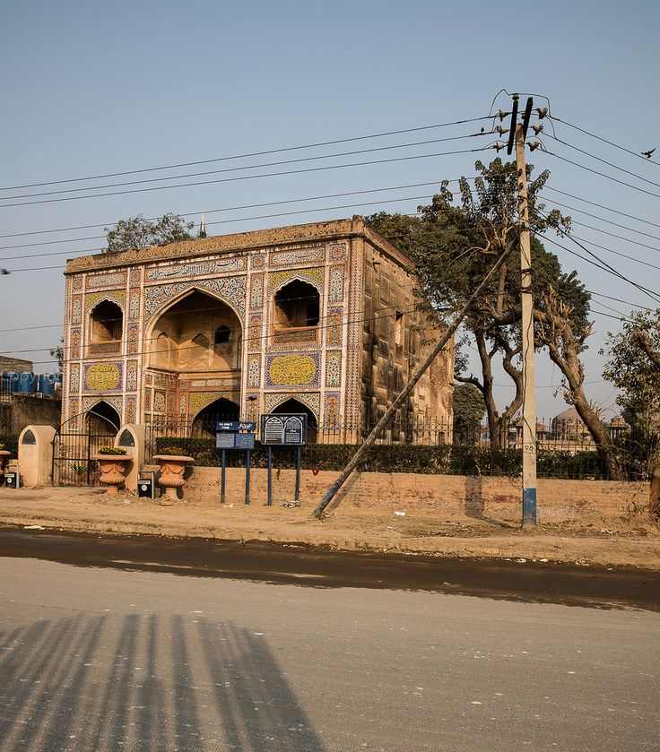 https://flic.kr/p/NerAxe   0W6A8811   TOMB OF DAYE ANGA  GRAND TRUNK ROAD LAHORE PUNJAB PAKISTAN Born as Zeb-un-Nisa, Dai Anga (Urdu: دائی انگہ), was the wet-nurse of the Mughal Emperor, Shah Jahan. Her family was closely associated with the Mughal empire. Her husband Murad Khan served in the court of Emperor Jahangir as Magistrate of Bikaner, and her son Muhammad Rashid Khan, was the best archers in the kingdom, and died fighting in the service of Shah Jahan's eldest son Dara Shikoh. She…