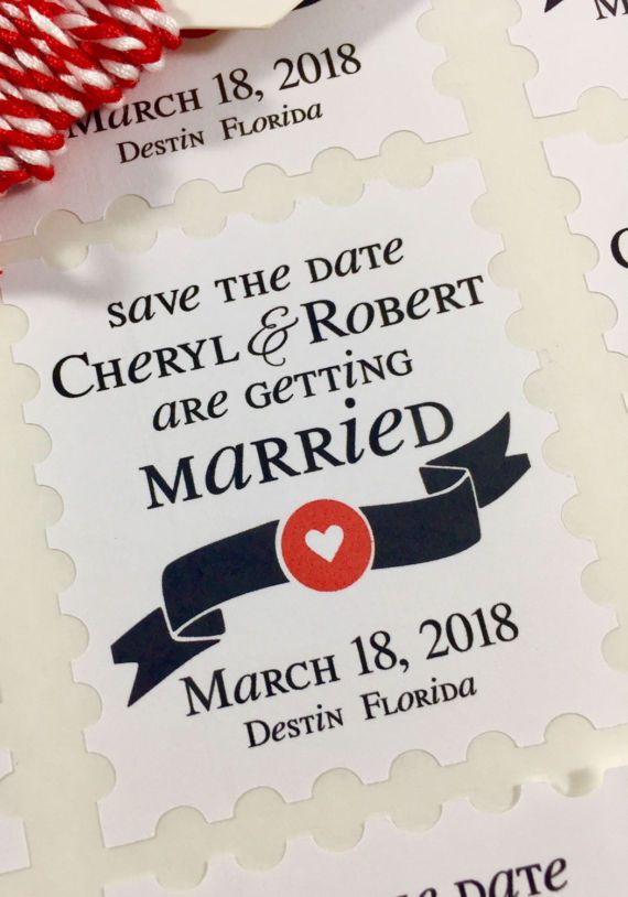 Save the Date, Wedding Stickers, Save the Date Labels, Envelope Stickers, Custom Stickers, Wedding Date Stickers, Stickers, Set of 30