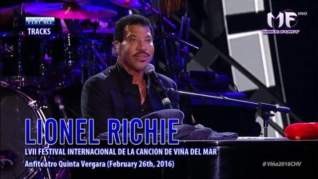 Canadauence TV: Lionel Richie - Viña 2016 AO VIVO