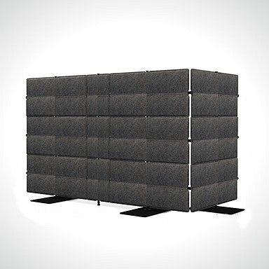 Zu laut? Akkustik-Elemente von USM, bei wohnform
