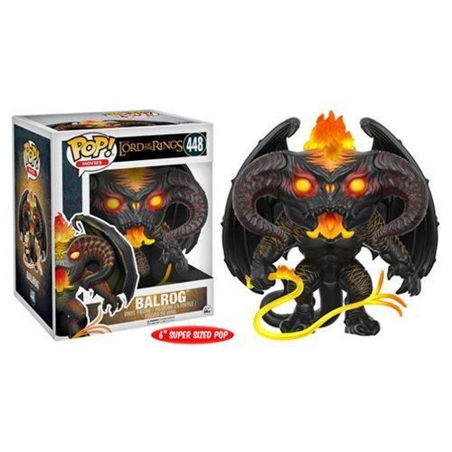 "IN STOCK Funko Pop Lord of the Rings LOTR Hobbit Balrog 6/"" inch 448"