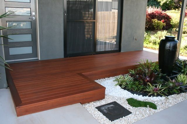 Deking Pty Ltd, Decked Front Entrance Area Brisbane, Queensland, Australia 1800DEKING for a Free Quote