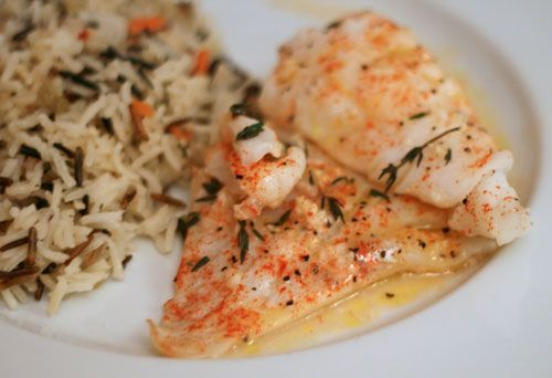Looking for a great baked cod recipe? This quick and easy recipe for Baked Lemon Herb Cod is simple but yields a rich, flavorful dish everyone will love.