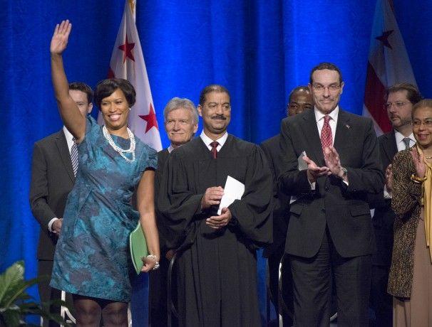 Muriel Bowser sworn in as D.C. mayor; pledges to make city healthier, safer - The Washington Post