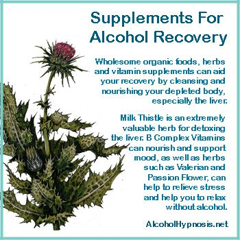 Self hypnosis and subliminal solutions to aid in alcoholic recovery.