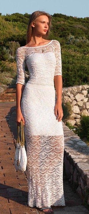 crochet dresses from liveinternet.ru