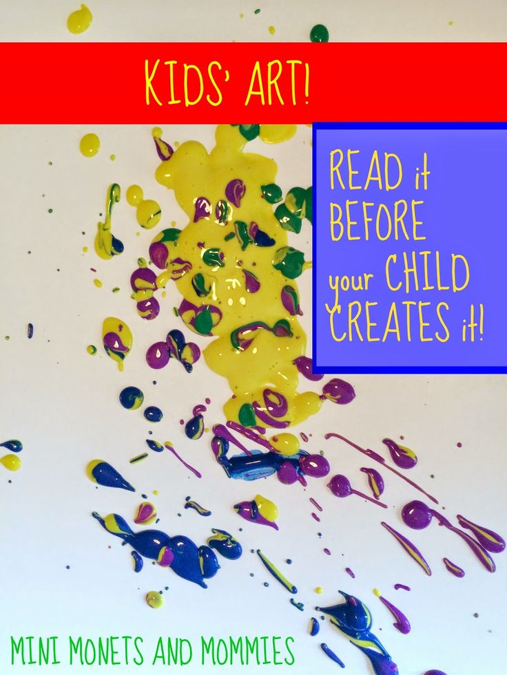 Children's books about art- read to your child before the art-making begins!