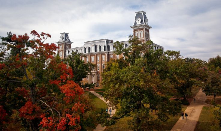 University of Arkansas in Fayetteville included in list of the most beautiful college campuses of the South by PorterBriggs.com. #VisitArkansas