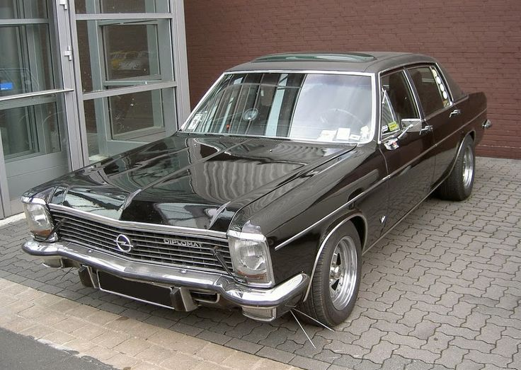 OPEL DIPLOMAT with V8 CHEVROLET
