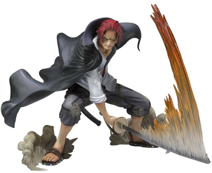 Figurine One Piece Red-Haired Shanks Battle version - 12 cm - Acheter vendre sur Référence Gaming