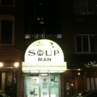No soup for you! : Soups, Nyc