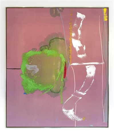 Helen Frankenthaler, Pirouette, 1987, acrylic on canvas, 82.75 x 70.5 in