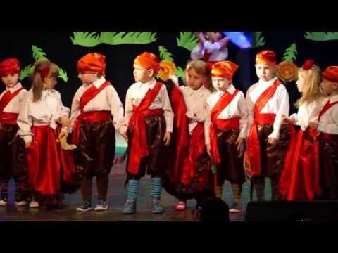 """""""Piracki Skarb"""" - grupa 5 latków - Przedszkole Integracyjne Nr 9 w Tarnobrzegu. - YouTube"""