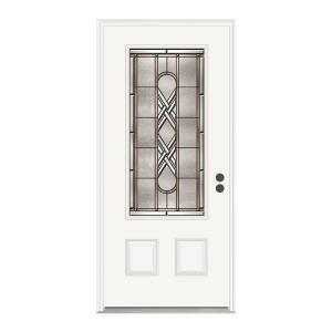 34 best exterior front doors images on pinterest for Jeld wen fiberglass entry door
