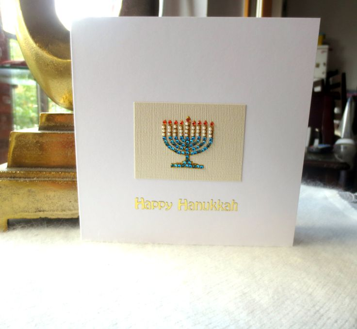Hanukkah card, Chanuka, Chanukah, Jewish holiday card, Menorah, Jewish  Celebrations, Handmade Card, Personalised cards, Etsy UK, cards shop by FyneHandmadeCards on Etsy