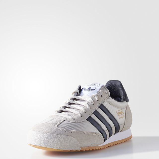 adidas dragon blanche homme
