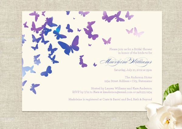 Wedding Butterfly Invitations: Best 25+ Butterfly Wedding Invitations Ideas On Pinterest