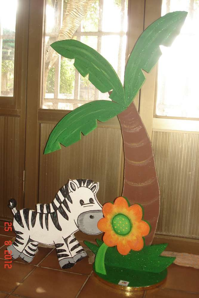 jungle animals Birthday Party Ideas | Photo 26 of 32 | Catch My Party