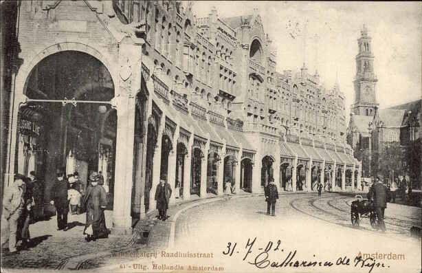 Raadhuisstraat 1902
