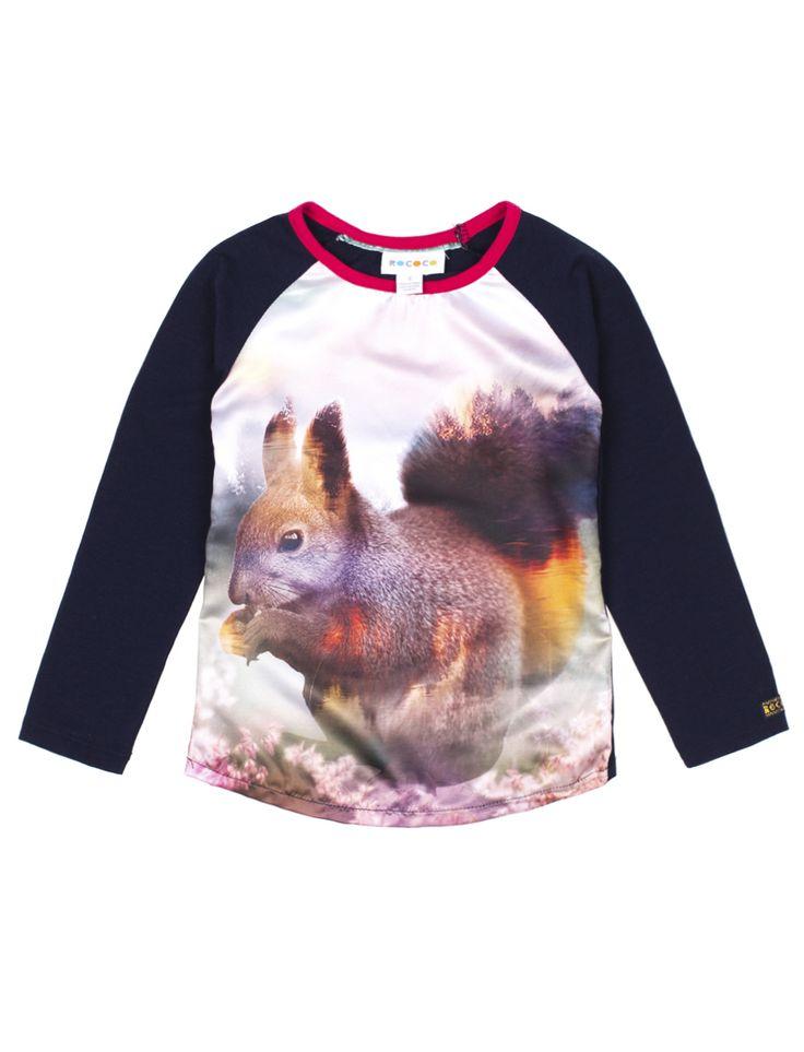 Tee-shirt manches longues Rococo avec devant soyeux - Mode Choc | Le grand magasin de la mode