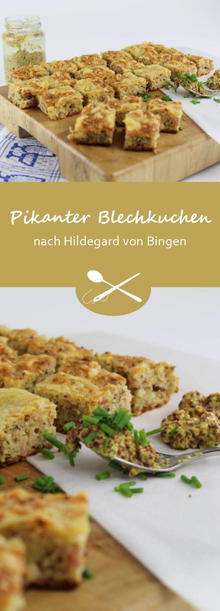 Der Kochtalk auf Radio Maria Schweiz mit Pia Gribi und Laura Jacober: Pikanter Blechkuchen mit ausgewählten Zutaten nach Hildegard von Bingen. Ideal für die schnelle Küche, wenn unerwartet Gäste eintreffen.