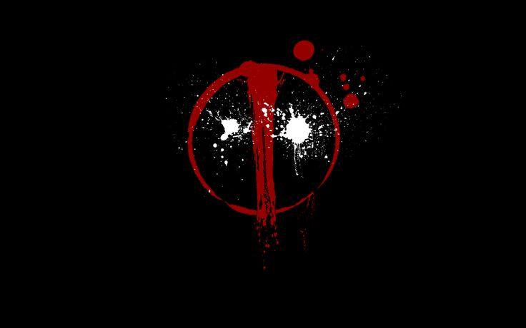 Reb Black Deadpool Logo Wallpapers HD.