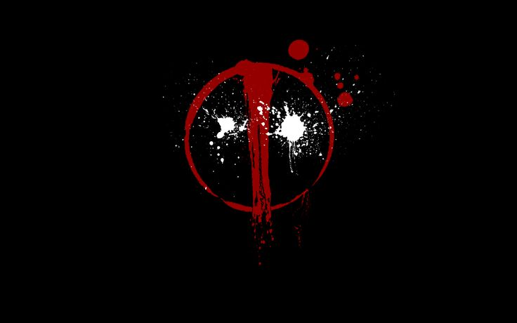 Reb Black Deadpool Logo Wallpapers HD.