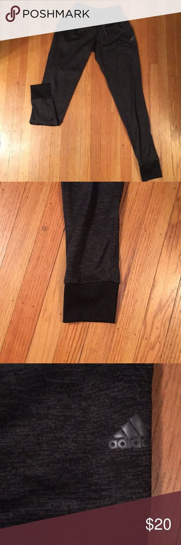 Men's Adidas joggers Men's Adidas joggers. Size XS. Elastic bottoms. Elastic waist. Front pockets. Smoke and pet free home. Near perfect and new condition. adidas Pants Sweatpants & Joggers
