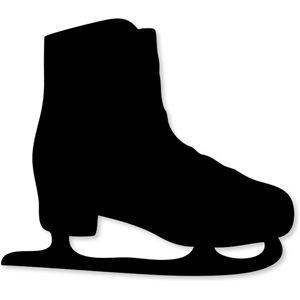 Silhouette Design Store - View Design #22888: ice skate