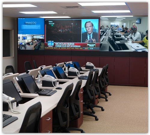 Federal Emergency Operations Centers