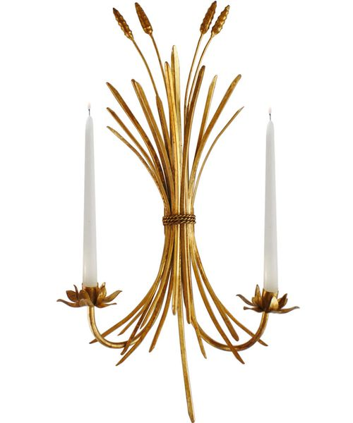 Trad-Glam Wheat Sheaf Sconce // brass candelabra sconceWheat Sconces, Street Marketing, Sheaf Wall, Wheat Sheaf, Wheatsheaf, Candle Holders, Candles Holders, High Street, Wall Sconces