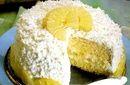 Como fazer bolo recheado de abacaxi