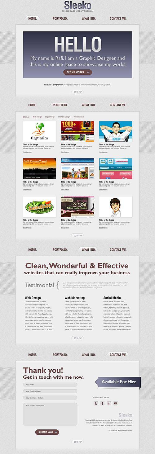 114 mejores imágenes de PSD - templates en Pinterest | Currículum ...