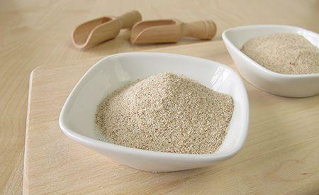 Flohsamenschalen zur Behandlung des metabolischen Syndroms (Zucker+, Fette+, Hypertonie und Übergewicht) - beachtliche Erfolge. Die Samen entstammen der Heilpflanze Plantago ovata aus Indien, Pakistan.