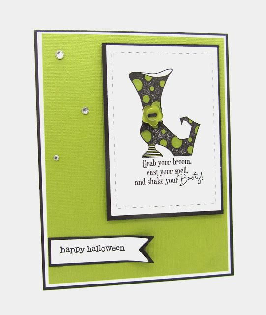 PinkBlingCrafter: Happy Halloween with Bootiful Occasions from Stampin' Up!